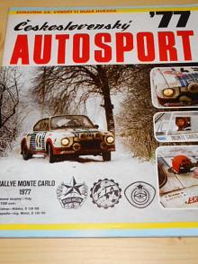Československý autosport 1977
