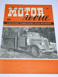 Motor Revue - 1941 - ročník XX., číslo 406