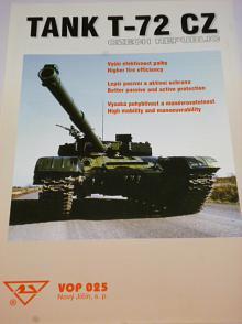 Tank T-72 CZ - VOP 025 Nový Jičín - prospekt