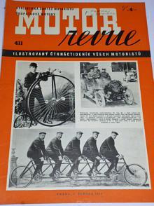 Motor Revue - 1941 - ročník XXI., číslo 411