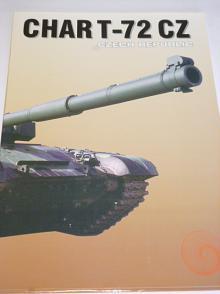Char T-72 CZ - tank - VOP 025 Nový Jičín - prospekt