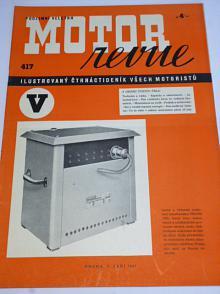 Motor Revue - 1941 - ročník XXI., číslo 417