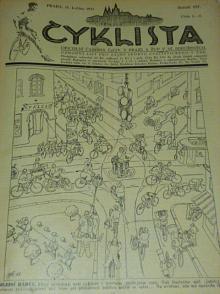 Cyklista - 1933 - 1934, kompletní ročník XIV., čísla 1 - 20