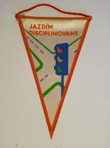 Jazdím disciplinovane - vlaječka