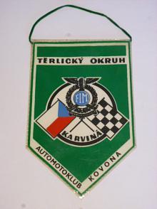 Těrlický okruh - Karviná - Automotoklub Kovona - vlaječka
