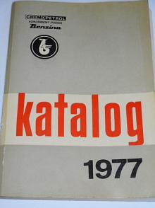 Benzina - katalog 1977 - paliva, oleje, maziva...