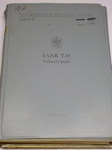 Tank T-55 - technický popis - 1968, 1969, 1973, 1979