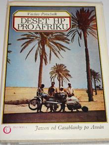 Deset HP pro Afriku - Jawou od Casablancy po Asuán - Václav Potužník - 1973 - JAWA 90