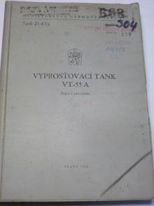 Vyprošťovací tank VT-55 A - popis a prevádzka - 1974