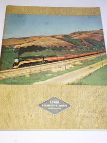 LIMA Locomotive Works - Steam Locomotives - prospekt - 1947 - parní lokomotivy