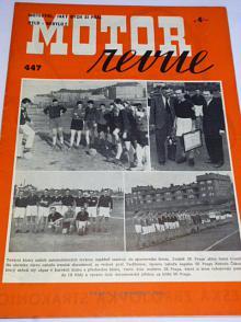 Motor Revue - 1942 - ročník XXII., číslo 447
