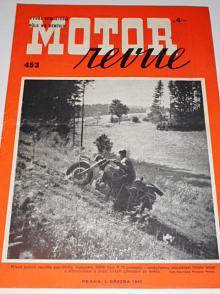 Motor Revue - 1943 - ročník XXII., číslo 453