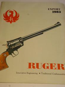 Ruger Export 1983 - prospekt