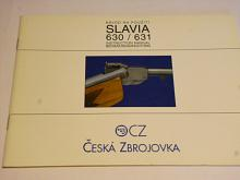 CZ Slavia 630/631 - návod na použití - 1999