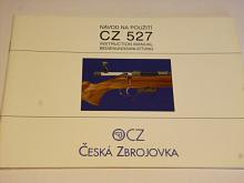 CZ 527 - návod na použití - 2001