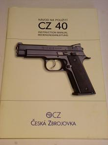CZ 40 - návod na použití - 2000