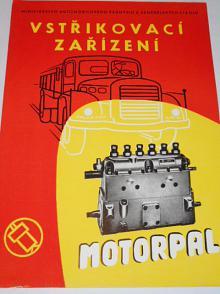 Motorpal - vstřikovací zařízení pro naftové motory - prospekt - 1957