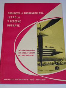 Proudová a turbovrtulová letadla v letecké dopravě - 1961