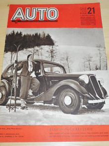 Auto - ročník XVII., číslo 21., 1936 - časopis - Oficielní orgán Autoklubu republiky Československé