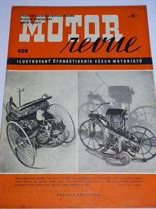 Motor Revue - 1942 - ročník XXI., číslo 429