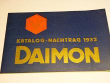 Daimon - Katalog - Nachtrag 1932