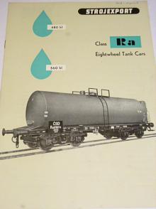 Class Ra Eightwheel Tank Cars - Strojexport - prospekt 1958