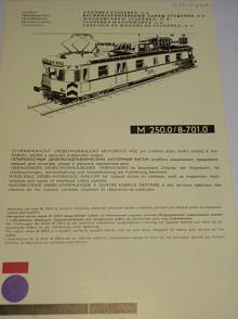 Vagónka Studénka - M 250.0/8-701.0 - prospekt