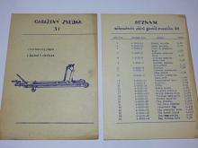 Garážový zvedák 5 t - popis, návod k obsluze, seznam dílů