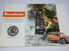 Konrad Rosenbauer - Tanklöschfahrzeuge Sonderlöschfahrzeuge Rüstkraftwagen - prospekt