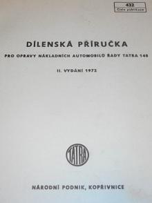 Tatra 148 - dílenská příručka - 1972