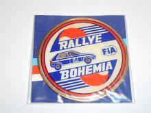 Rallye Bohemia - Škoda Favorit - plaketa