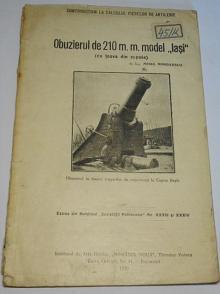 Obuzierul de 210 m. m. model lasi - 1920