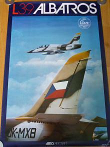 Aero Vodochody - L 39 Albatros - plakát - 1983