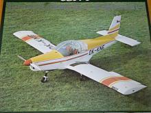 Zlín Z 142 - OK-KNE - Aero - plakát