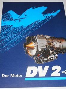 ZVL - Der Motor DV 2 - prospekt - Omnipol - L 39 MS Albatros