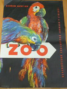 ZOO - Severočeská zoologická zahrada v Liberci - plakát