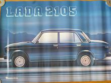 VAZ - LADA 2105 - plakát - Mototechna