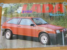 VAZ - LADA 2108 - plakát - Mototechna - 1990