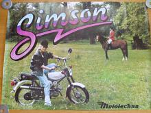 Simson S 51 Enduro - plakát - Mototechna