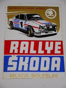 Rallye Škoda Mladá Boleslav - Škoda 130 RS - samolepka