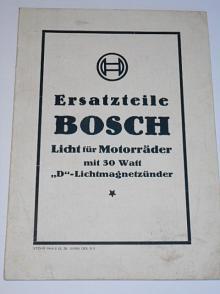 Bosch Ersatzteile Licht für Motorräder mit 30 Watt D - Lichtmagnetzünder - 1928
