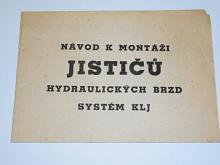 Jističe hydraulických brzd KLJ - návod k montáži