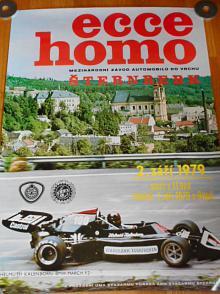Ecce homo Šternberk - 2. září 1979 - plakát