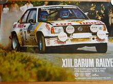 VIII. Barum rallye Gottwaldov 19.-20.8.1983 - plakát