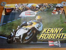 Kenny Roberts - Yamaha - Champion - plakát