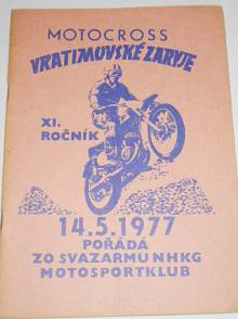 Motocross Vratimovské Zaryje - 14. 5. 1977 - program