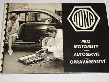 Tona - pro motoristy, autoservis, opravárenství - nářadí