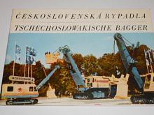 Československá rypadla - Tschechoslowakische Bagger - Uničovské strojírny, Uničov - Škoda - prospekt