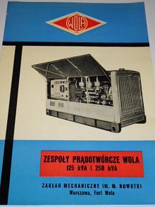 WOLA - Zespoly pradotworcze Wola 125 kVa i 250 kVa prospekt