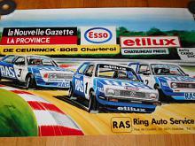 RAS - Ring Auto Service - Volkswagen, ESSO... - plakát